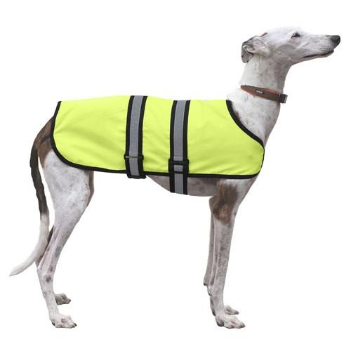 Capa impermeável para cães X-Trek néon