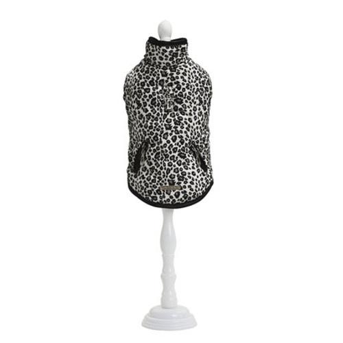 Jaqueta de leopardo acolchoada Guepard