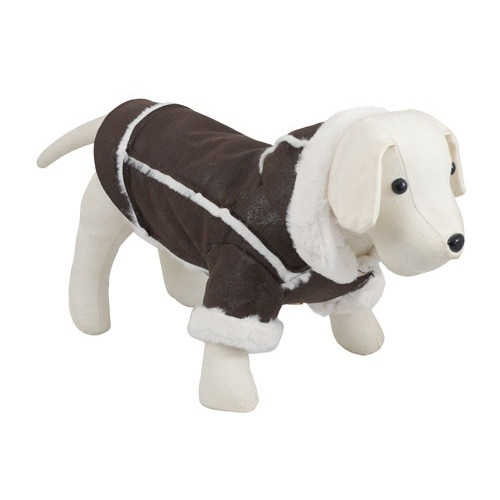 Jaqueta para cães Chic Dog castanha