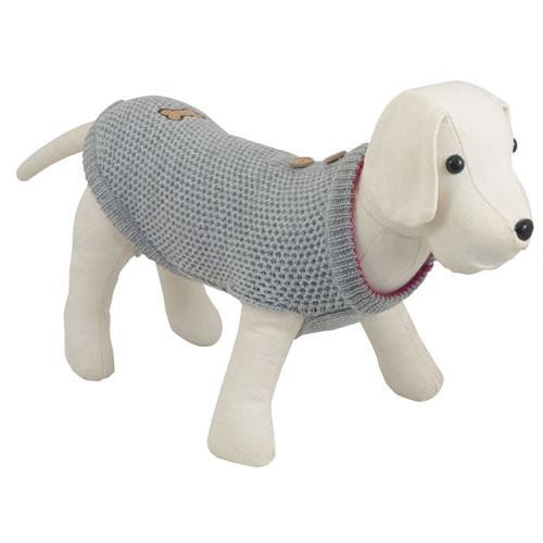 Camisola de malha invertida para cães Casual
