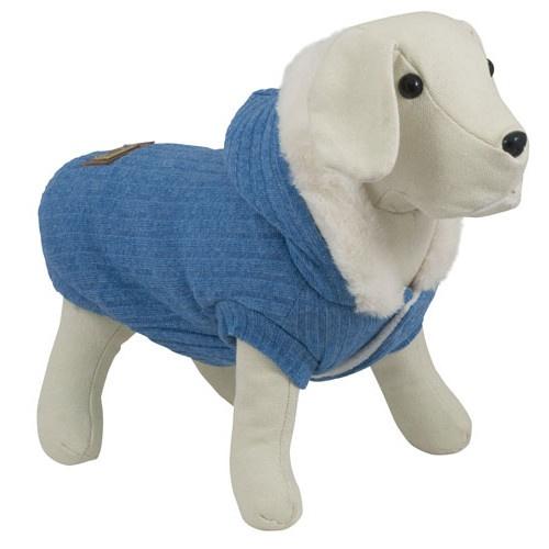 Camisola suave para cães South Pole azul