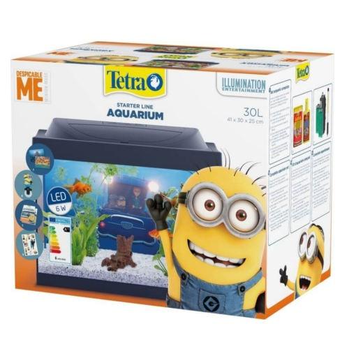 Kit aquário infantil Minions de Tetra