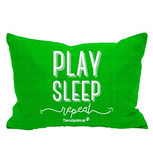 Cama exclusiva 'Play Sleep' Tiendanimal verde