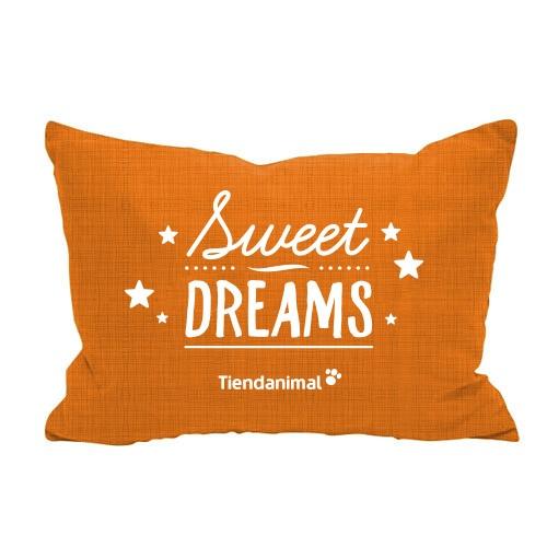 Cama exclusiva 'Sweet Dreams' laranja