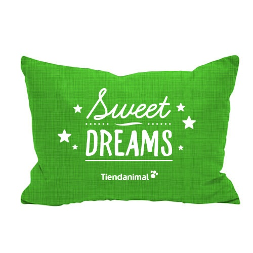 Cama exclusiva 'Sweet Dreams' verde