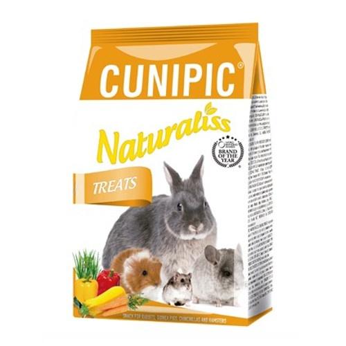 Snacks Cunipic Naturaliss Treats feno e verduras