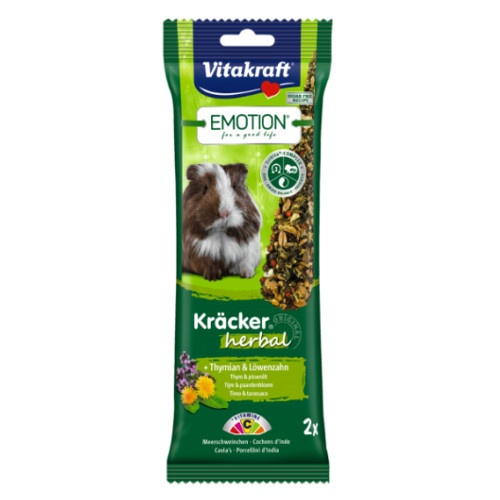 Barritas Vitakraft Emotion Herbal para cobaias