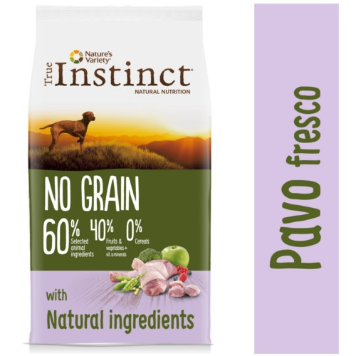 True Instinct No Grain Medium-Maxi com peru