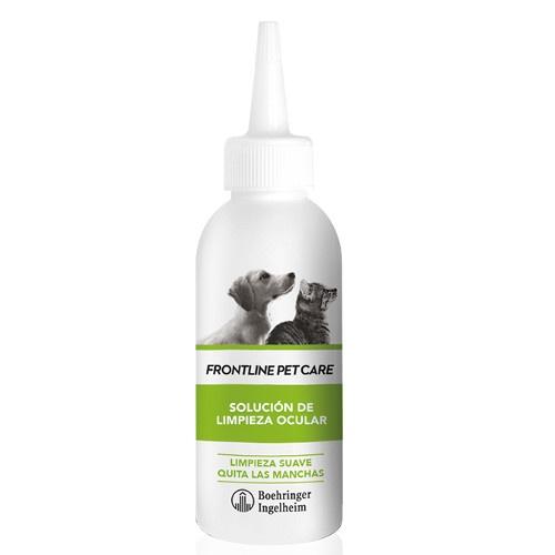 Solução de limpeza ocular Frontline Pet Care