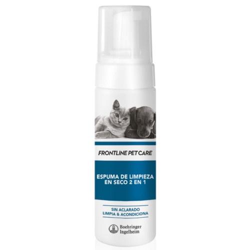 Espuma de limpeza em seco Frontline Pet Care