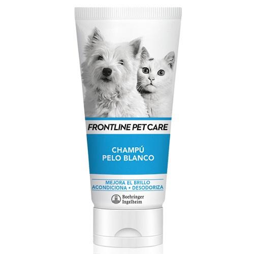 Champô para pelo branco Frontline Pet Care