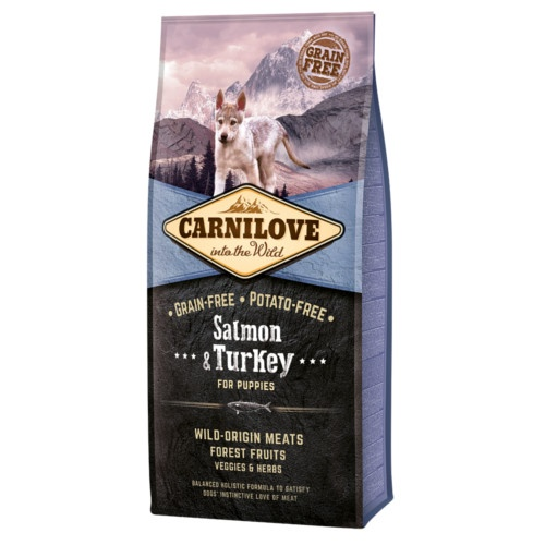 Ração Carnilove Salmon & Turkey cachorros