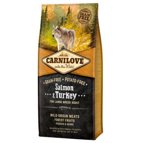 Ração Carnilove Salmon & Turkey raças grandes