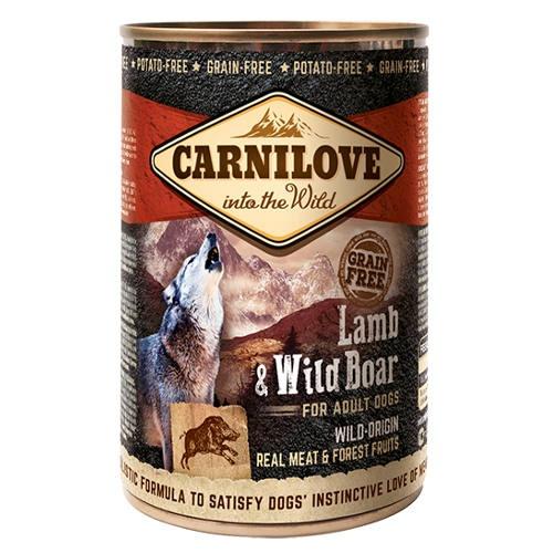 Comida húmida Carnilove Lamb & Wild Boar