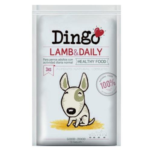 Ração Dingo Lamb & Daily para cães adultos