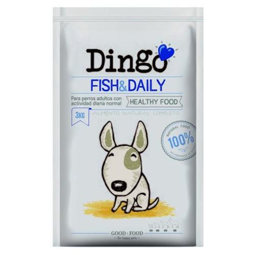 Ração Dingo Fish & Daily para cães adultos