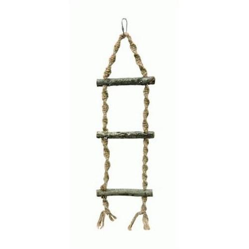 Escada de corda para pássaros