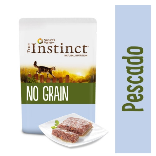 True Instinct No Grain patê peixe com verduras