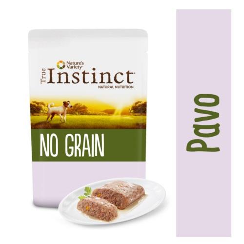 True Instinct No Grain Mini patê peru e verduras