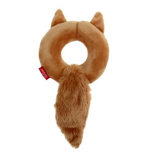Donut esquilo de peluche GiGwi