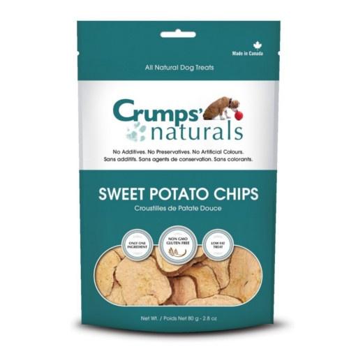 Chips de batata doce crocante Crumps