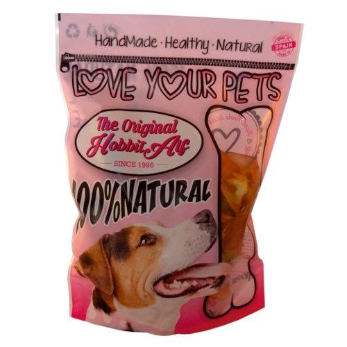 Orelha de vaca desidratada para cães