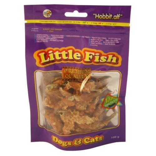 Peixinhos com frango para cães e gatos