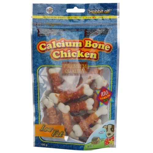 Ossinhos de cálcio com frango para cães
