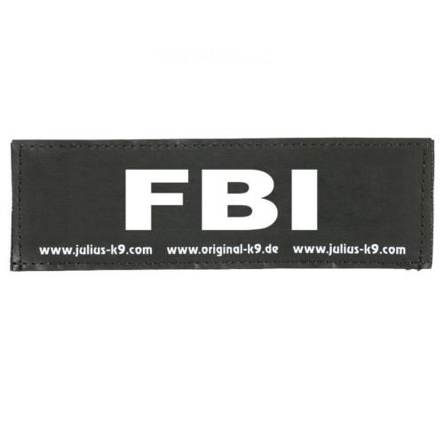 Etiqueta para peitoral Julius K9 FBI