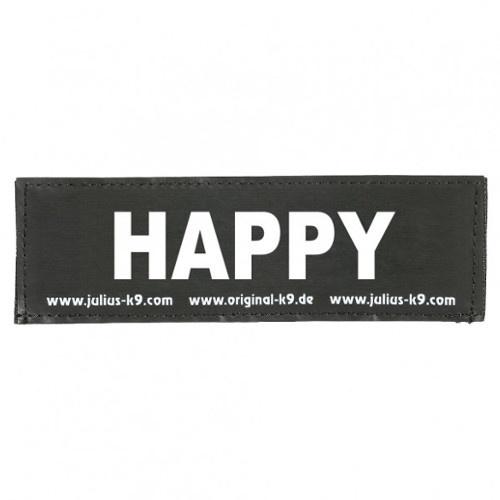 Etiqueta para peitoral Julius K9 Happy