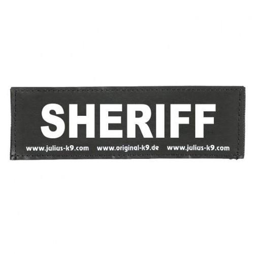 Etiqueta para peitoral Julius K9 Sheriff
