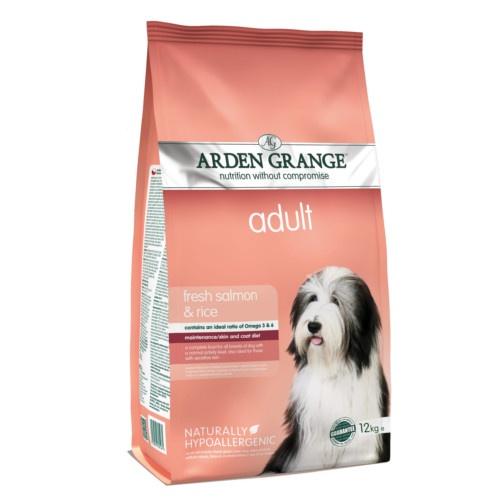 Ração Arden Grange Salmão e arroz para cães