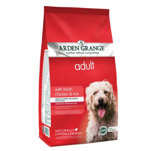 Ração Arden Grange Frango e arroz para cães