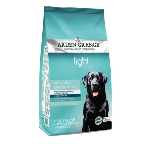 Ração Arden Grange Light Frango para cães