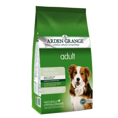 Ração Arden Grange Cordeiro e arroz para cães