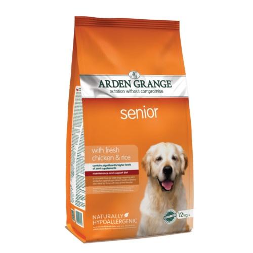 Ração Arden Grange Senior Frango para cães