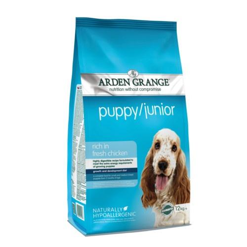 Ração Arden Grange Puppy/Junior para cães