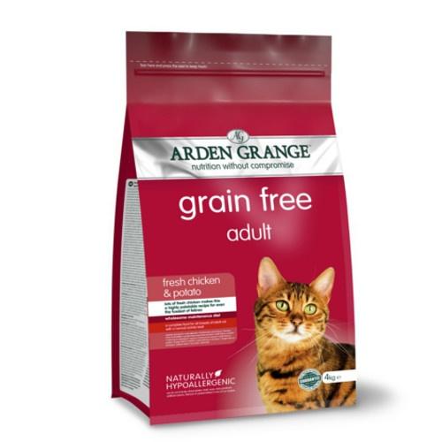 Ração Arden Grange Grain Free para gatos