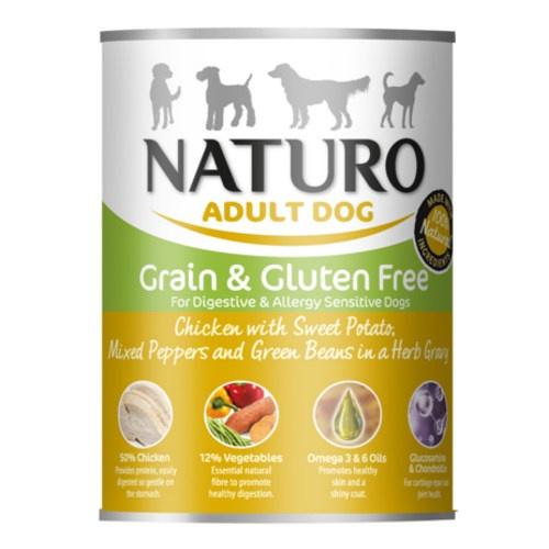 Naturo Grain Free frango com verduras para cães