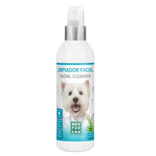 Limpador facial para cães Menforsan
