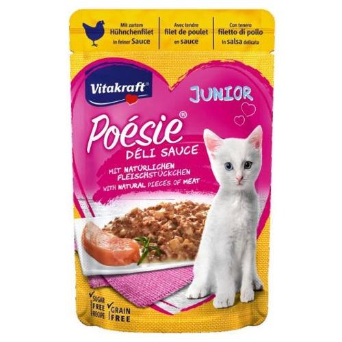 Vitakraft Poésie Junior Pouch de carne de frango