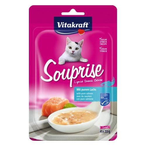 Vitakraft Souprise sopa de salmão