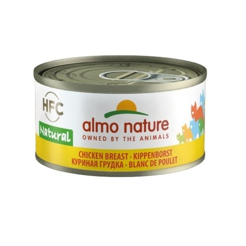 Almo Nature HFC Natural peito de frango para gatos