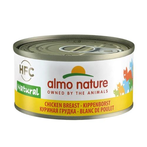 Almo Nature HFC Natural peito de frango para gatos