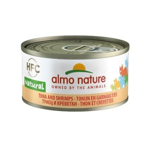 Almo Nature HFC Natural atum e camarão para gatos