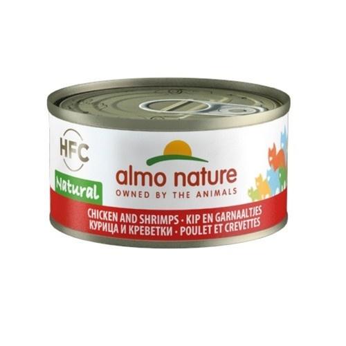 Almo Nature HFC Natural frango e camarão para gatos