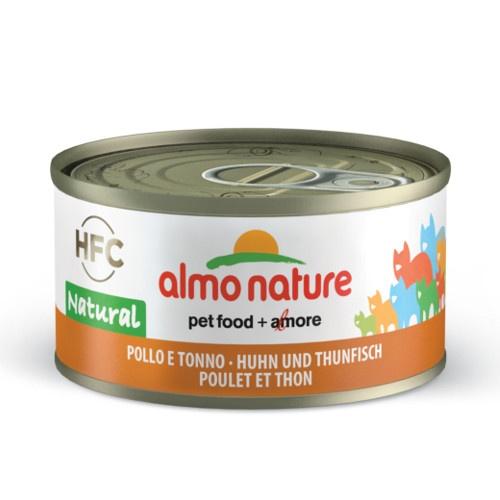 Almo Nature HFC Natural frango e atum para gatos