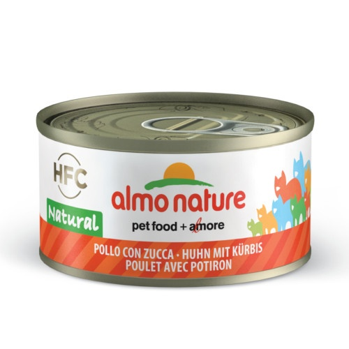 Almo Nature HFC Natural frango e abóbora para gatos
