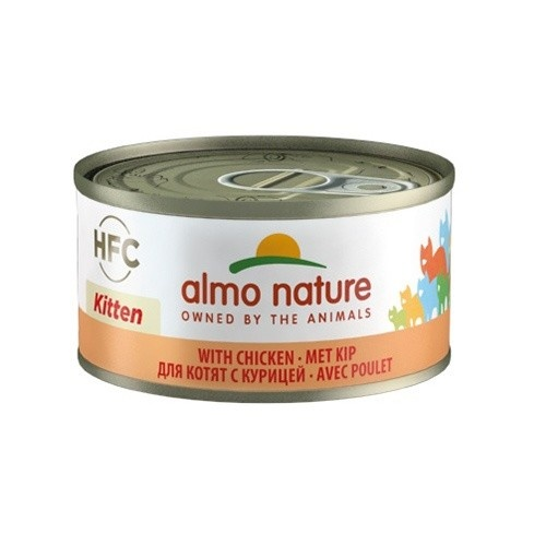 Almo Nature HFC Kitten frango para gatos