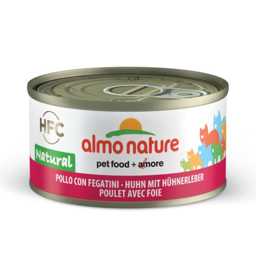 Almo Nature HFC Natural frango e fígado para gatos